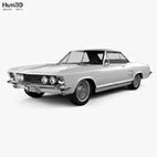 Buick Riviera 1963 3D model logo