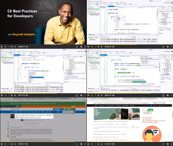 C# Best Practices for Developers center