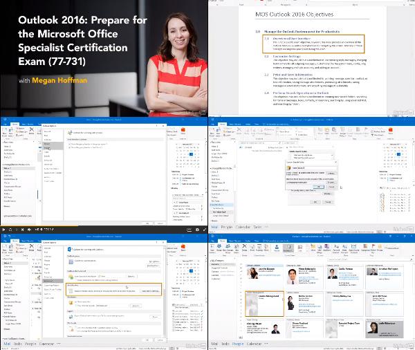 Cert Prep: Outlook 2016 Microsoft Office Specialist 77-731 center