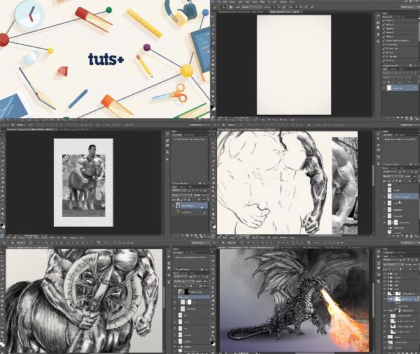 Drawing Fantasy Creatures Digitally center