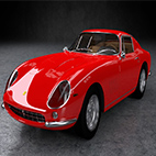 Ferrari 275 GTB 1964 3D Model logo