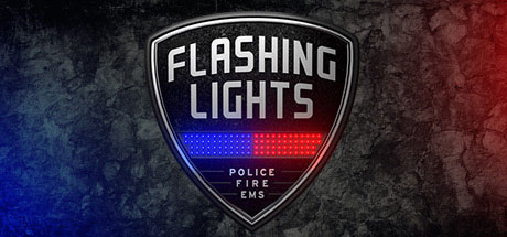 Flashing Lights Police Fire EMS center
