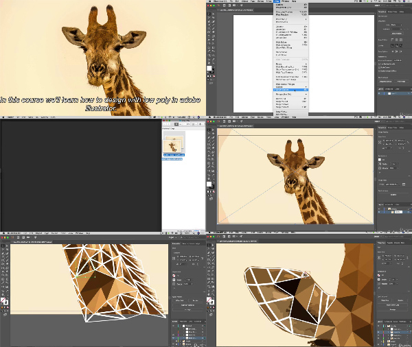 How to Design with Low Poly in Illustrator center
