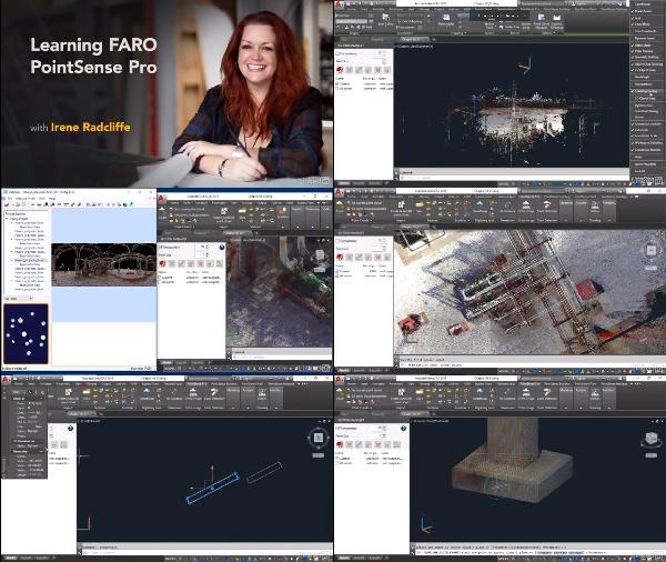 Learning FARO PointSense Pro center