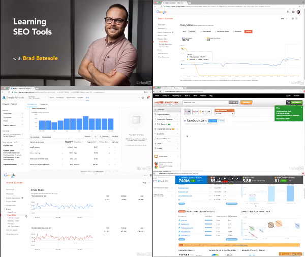 Learning SEO Tools center
