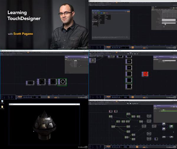 Learning TouchDesigner center