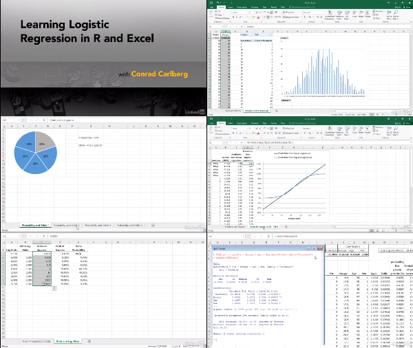 Logistic Regression in R and Excel center