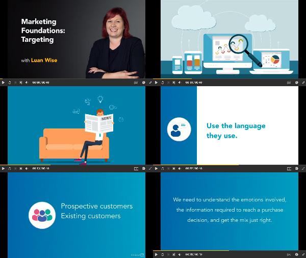 Marketing Foundations: Targeting center