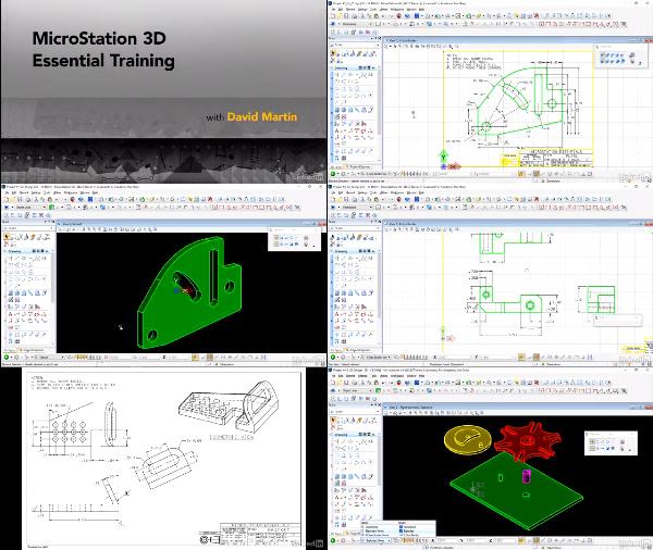 دانلود فیلم آموزشی MicroStation 3D Essential Training