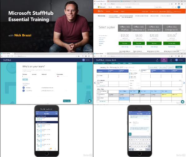 Microsoft StaffHub Essential Training center