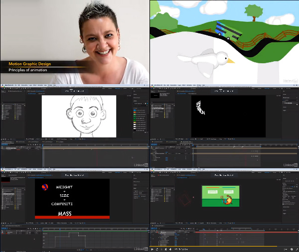 Motion Graphic Design: Animation center