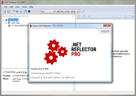 Net Reflector center
