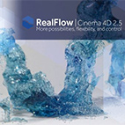 NextLimit RealFlow C4D 2.5.3.0083 for Cinema 4D R17 – R19 logo