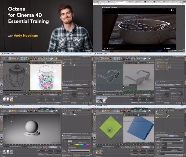 OctaneRender for Cinema 4D Essential Training center