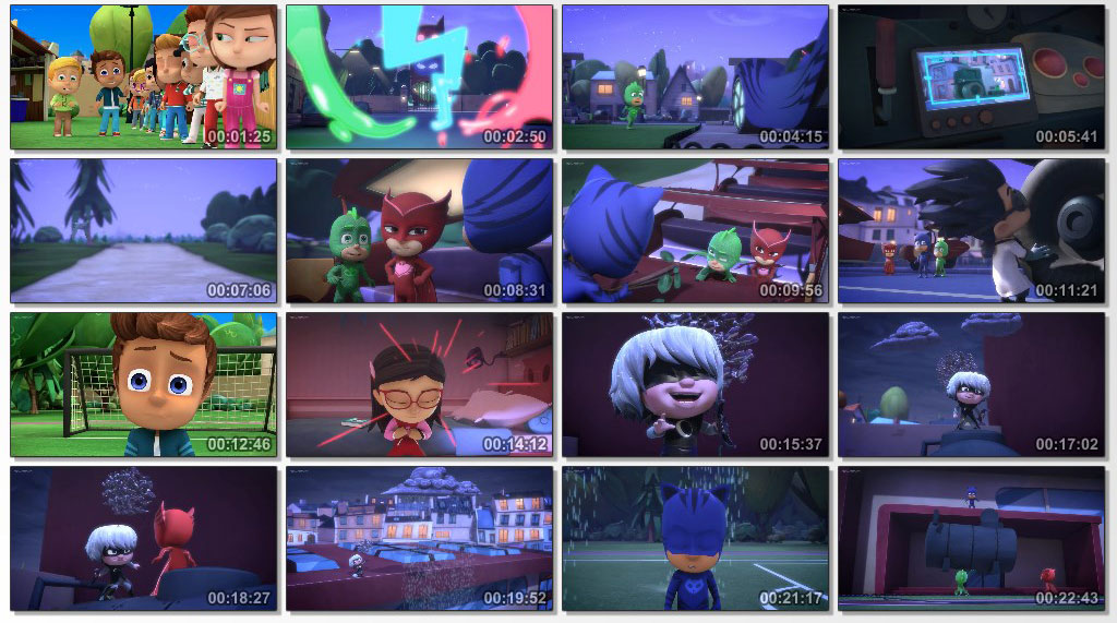 PJ masks - screen