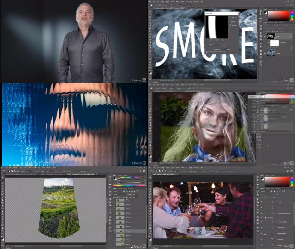 Photoshop CC 2018 One-on-One: Mastery center
