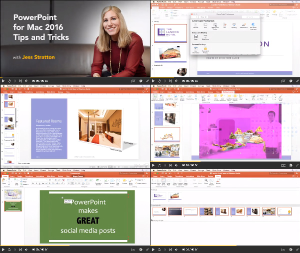 PowerPoint for Mac 2016: Tips and Tricks center
