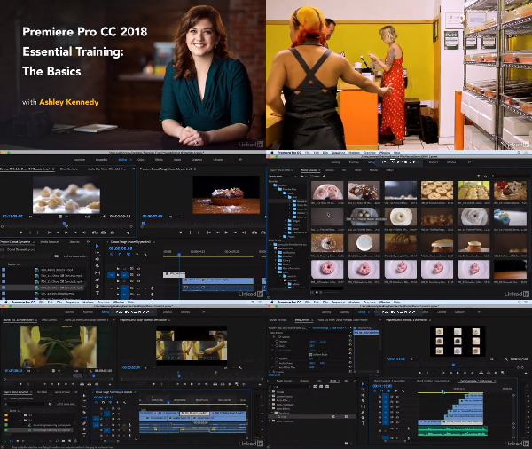 Premiere Pro CC 2018 Essential Training: The Basics center