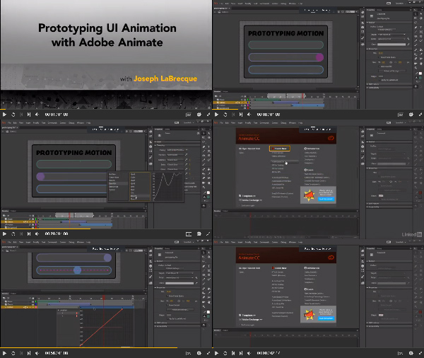 Prototyping UI Animation with Adobe Animate center