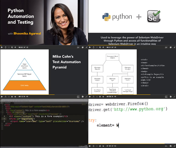 Python Automation and Testing center