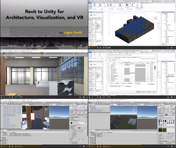Revit to Unity for Architecture, Visualization, and VR center