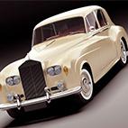 Rolls Royce Silver Cloud III 3D model logo