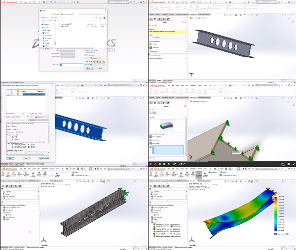 SOLIDWORKS Simulation: Dynamic Analysis center