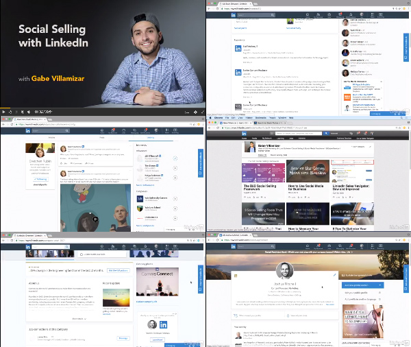 Social Selling with LinkedIn center