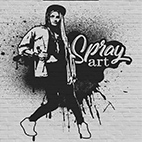 Spray Art Photoshop Action logo