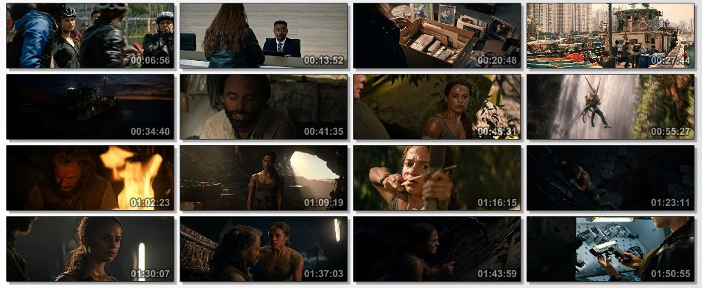 Tomb Raider 2018 - screen