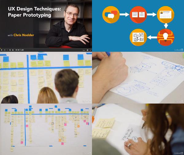 UX Design Techniques: Paper Prototyping center