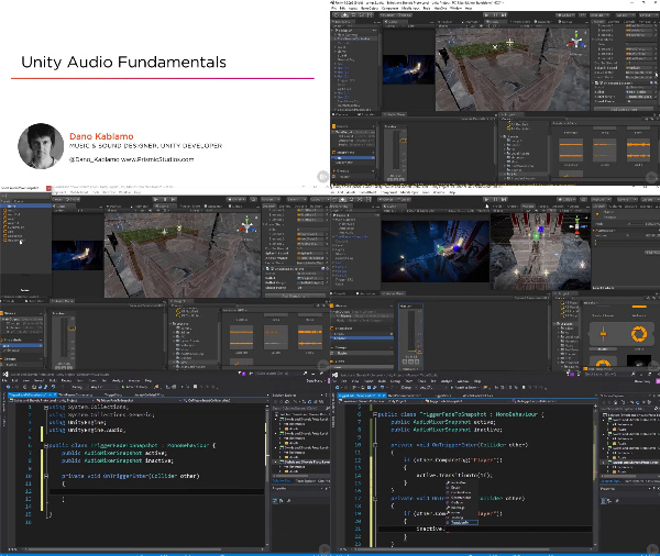 Unity Audio Fundamentals center