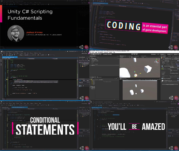 Unity C# Scripting Fundamentals center