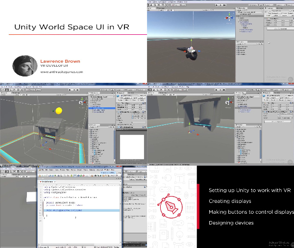 Unity World Space UI in VR center