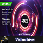 Videohive Audio React Tunnel Music Visualizer logo