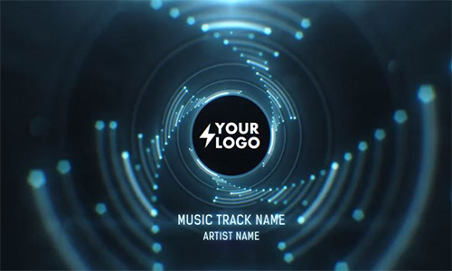 Videohive Audio React Tunnel Music Visualizer center