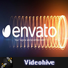 Videohive Charging Streaks Logo logo