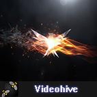 Videohive Elegant Flame Logo logo