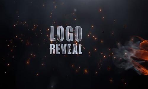 Videohive Elegant Flame Logo center