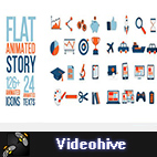 Videohive Flat Animated Story logo