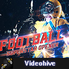 Videohive Football Superstar Opener logo
