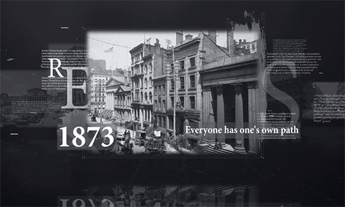 Videohive History Timeline center