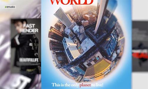 Videohive Magazine Promo center