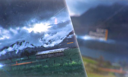 Videohive Magic CInematic Parallax Opener and Slideshow center