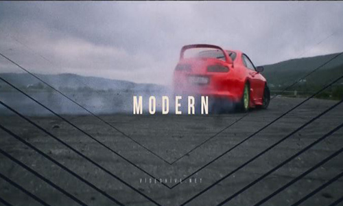 Videohive Modern Intro center