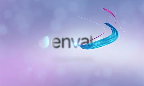 Videohive Silk Logo Revel V2 center