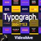 Videohive Typograph logo
