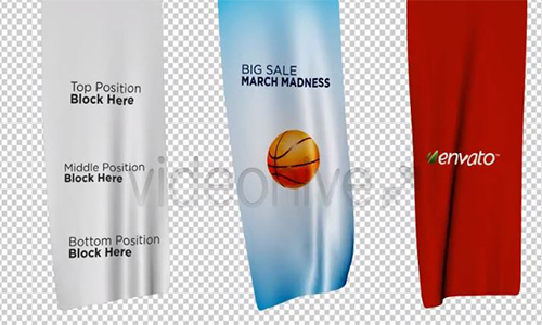 Videohive Unfolding Banners center