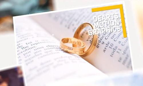 Videohive Wedding Photo Album center