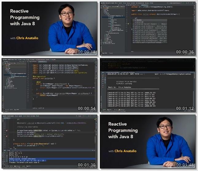 دانلود فیلم آموزشی Reactive Programming with Java 8 از Lynda
